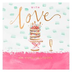 Buy Card Mix Birthday Cake Greeting Card Online at johnlewis.com