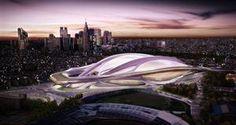 Estadios futuristas para los Juegos Olímpicos 2020