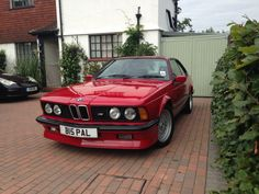 BMW E24 M635 CSi Bmw 635 Csi, Bavarian Motor Works, Bmw 6 Series, Bmw Classic Cars, New Bmw, Car Engine, Bmw Cars, Retro Cars, Autos