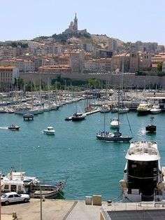 Vieux Port at Marseille #bucketlist