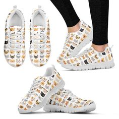 This adorable Sneakers Shoes will be a perfect addition to your outfit! Now on Limited Production! Hurry and get yours today! Not Sold In Stores! Limited Produc