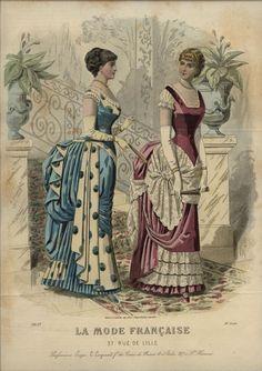 1883 ... LA MODE  FRANCAISE