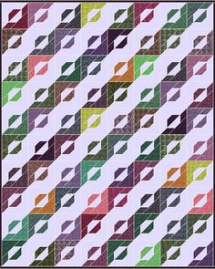 Here is a modern hunter REMIX! This block is pieced together just like a modern hunter star block, but the prints and solids are layout d...