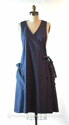 cd0dcb97187 Apron dress - This is a style similar to one from Japanese pattern book  Pretty  Mature Natural Wardrobe