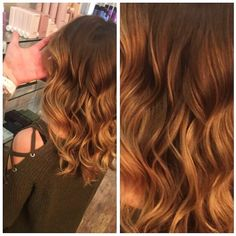 Balayage and beach waves in Boston! By Michael!