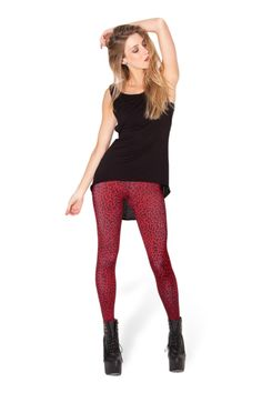 Baby Jaguar Tore My Throat Out Leggings › Black Milk Clothing Need in Small