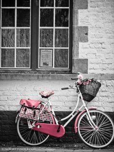 bike pink