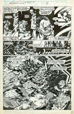 Weapon X (Chapter 4) - Marvel Comics Presents #75, page 1 Comic Art