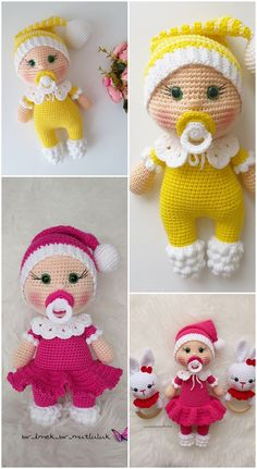 In this article I will share the amigurumi doll pacifier doll free crochet pattern. You can find everything you want about Amigurumi. Doll Amigurumi Free Pattern, Octopus Crochet Pattern, Crochet Amigurumi Free Patterns, Amigurumi Doll, Crochet Toys, Cute Crochet, Life, Doll Patterns Free, Free Amigurumi Patterns