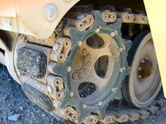 This is a close up of the front of the tracks of an M113. The rubber pads are very visible and like every other part of the tracks have a coating of dust. Introduction This article will deal with …