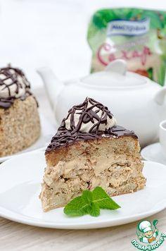 """Бисквитный торт с безе """"Паутинка"""" ингредиенты"""