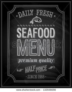 SeaFood Poster - Cha
