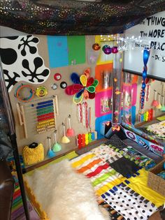 Sensory overload... but few good texture sensory play ideas
