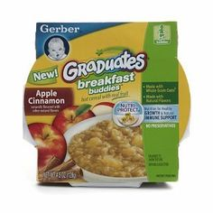 Gerber Graduates Breakfast Buddies Hot cereal with Real fruit, Apple Cinnamon, 4.5 oz $0.10
