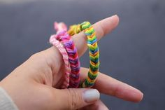 "The Fishtail | 15 ""Summer Camp Style"" Friendship Bracelets You Can Make Right Now"
