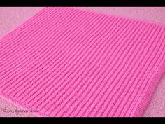 Easy Brioche Baby Blanket – FREE Knitting Pattern by Yay For Yarn – Yay for Yarn