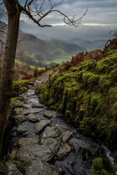Coniston,Lake District, England