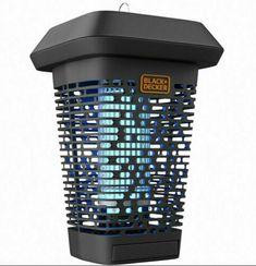Black & Decker Outdoor Hanging Bug Zapper Lantern BDPC912 #BlackDecker #Lantern Charcoal Grill Smoker, Bug Zapper, Security Camera, Lanterns, Backyard, Indoor, Ebay, Black, Backup Camera