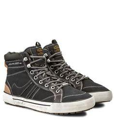 Ghete Sport Pepe Jeans Piele   Cea mai buna oferta Pepe Jeans, Mai, High Tops, High Top Sneakers, Sports, Fashion, Hs Sports, Moda, Fashion Styles