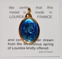 Our Lady of Lourdes Gold,Virgin Mary water Pendant, containing actual Lourdes Water drawn from the m Gold Water, Silver Water, Lourdes France, Water Drawing, Our Lady Of Lourdes, Christian Inspiration, Virgin Mary, Crystal Pendant, Statement Earrings