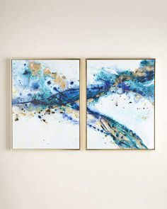 Two Azure Canyon Giclees