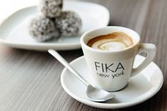 Grub Street's 58 Best Coffee Shops in America. Welcome to Fika #TriBeCa #NYCEateries