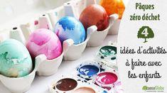 Pâques zéro déchet : 4 idées d'activités à faire avec les enfants Artisan Chocolatier, Zero Waste, Breakfast, Ps, Albums, Easter Ideas, Easter Table Settings, Morning Coffee, Photo Manipulation