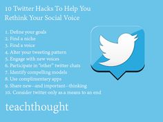10 Twitter Hacks To Help You Rethink Your Social Voice
