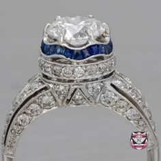Engagement Ring. The workmanship and detail is astounding, as is the finished product.