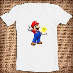 Super Mario Bros design shirt