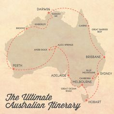 The ultimate itinerary for a trip around Australia. Rent a van and camp along the way! #PinUpLive