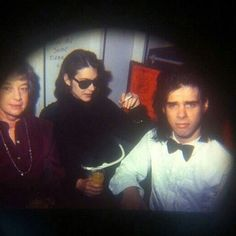 Nick with his wife and mother.