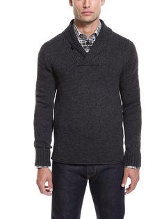 Vince  Shawl Collar Sweater