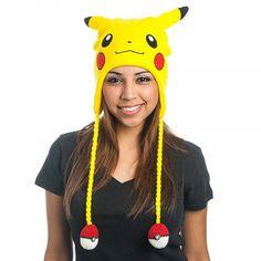 Pokemon Laplander. I love the #PokeBalls on the end of the #Pikachu hat.
