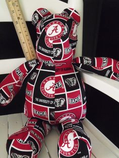 Alabama Bear Roll Tide by RADBears on Etsy, $15.95