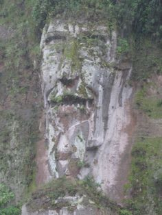 The Vikings worshiped their gods in the open air, choosing natural landmarks such as big rocks, unusual trees, and waterfalls. Ecuador, Nephilim Giants, Open Air, Strange Places, Cool Rocks, Rock Formations, Ancient Aliens, Natural Wonders, Amazing Nature