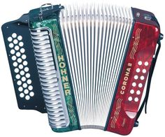 HOHNER CORONA II CLASSIC G/C/F KEY ACCORDION - HA3522GRWG