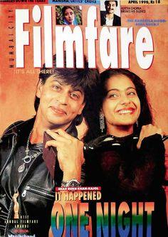 Embedded image permalink-Kajol and SRK at filmfare ....the DDLJ win.