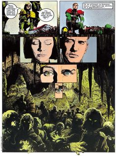 Arthur Ranson 2000ad, Comic Page, Comic Artist, Comic Books, Notes, Artists, Comics, Artwork, Inspiration