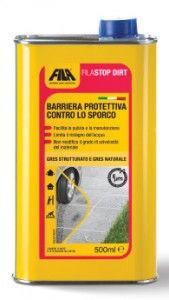 FILASTOP DIRT, barriera protettiva contro lo sporco, specifica per gres strutturato e naturale