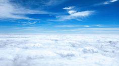 秋の富士山から見た雲海