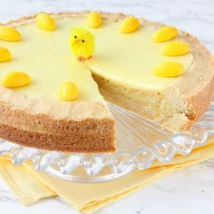 Påsk-Citronmazarinkaka Mud Cake, Swedish Recipes, Spring Recipes, Cheesecake, Food And Drink, Sweets, Candy, Snacks, Cookies