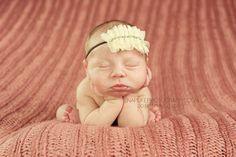 Vintage Headband Baby Girl Headbands Baby Hair Bow by BirdyBows, $7.00