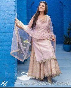 Sharara designs - Get the look now trendalertstore sharara shararasuit shararadesign pakistanisuits ritukumar weddingdress… Sharara Designs, Kurti Designs Party Wear, Sarara Dress, The Dress, Designer Punjabi Suits, Indian Designer Wear, Indian Wedding Outfits, Indian Outfits, Indian Weddings