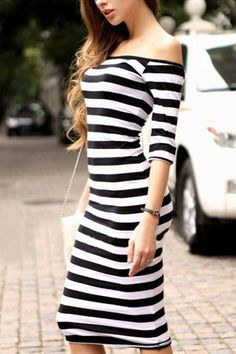 Stripes dress | inspiration