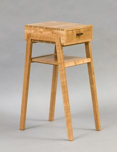 Cherry Bedside Table - by Michelle Diener