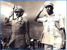 Hailé Selassié, emperor of Ethiopia and Siad Barre (10.1.1972).
