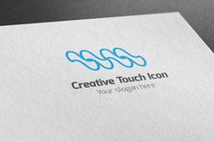 I just released Creative Touch Icon Logo on Creative Market.