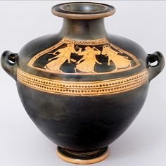 Attic Greek Red Figure Kalpis (525 BC - 500 BC)