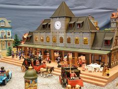 Nostalgic train station - created by #PLAYMOBIL Collectors Club member Guillermo
